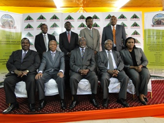 KeRRA board of directors with the Ministert and PS